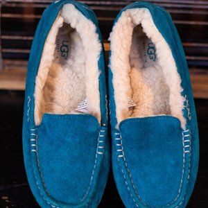 Teal Ugg Slippers